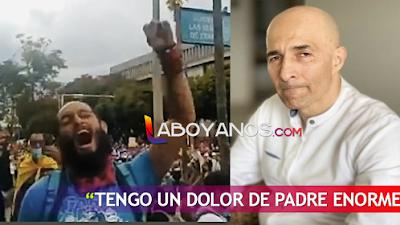 Papá de Lucas necesitar viajar de Neiva a Pereira a ver a su hijo, pide que levanten los bloqueos