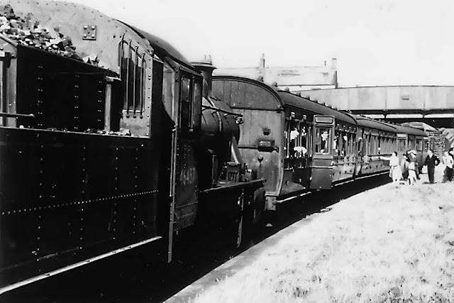Cleator Moor Passenger Train, C1920