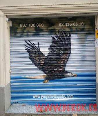 Barniz antigraffiti Barcelona