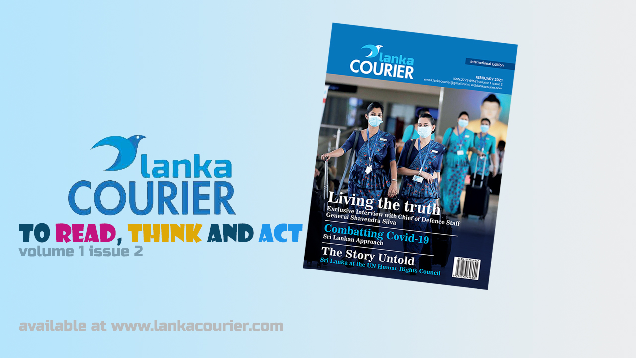 Second issue of Lanka Courier out now