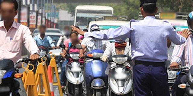 बाइक गुजरात में है, जबलपुर में आठ ई-चालान कट गए | JABALPUR NEWS