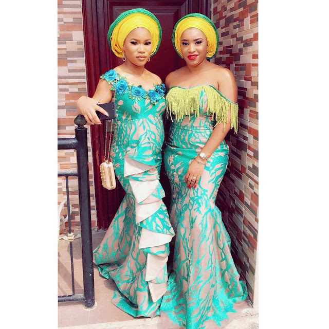 50 Most Top Latest Fashion Styles : Aso ebi for Wedding Occasions