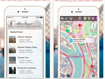The Top 4 Advantages of Using GPSmyCity Downloadable City Guides