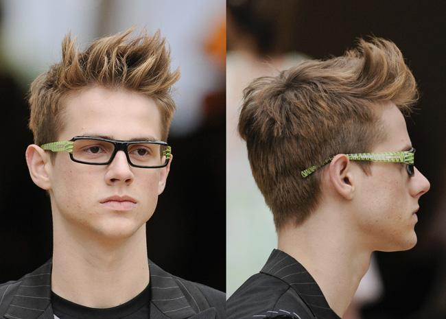 98ceb8cc4f829 Os jovens que procuram por opções de cortes masculinos verão 2012 vão se  deparar com uma variedade