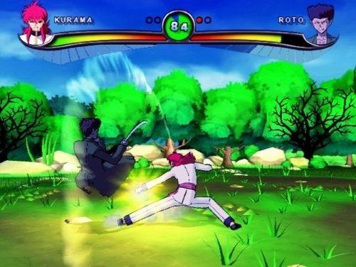 Yu Yu Hakusho Dark Tournament PS2 GAME ISO Gameplay 1