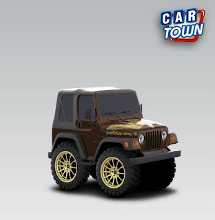 Jeep Wrangler 2003 Golden Eagle