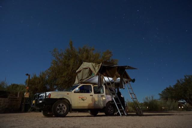 Como viajar pela Namíbia numa camper com barracas