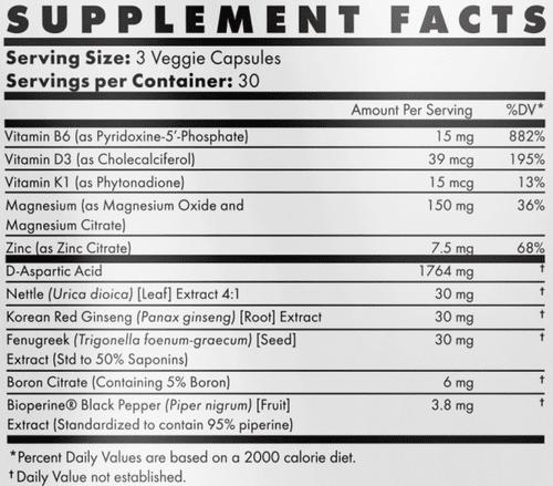 SBulk Ingredients