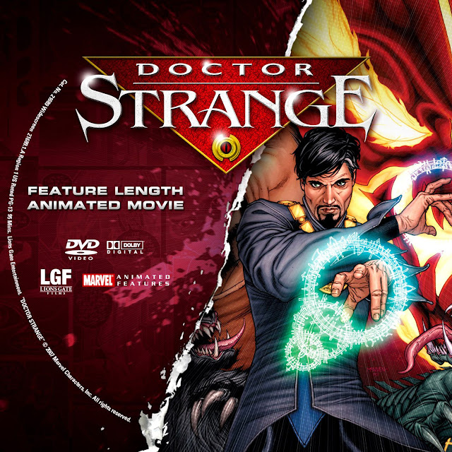 Doctor Strange Special Edition DVD Label