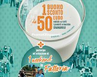 Logo Concorso ''Vinci con la Filiera Granarolo'': in palio 55 buoni sconto da 50€ e un weekend in Fattoria