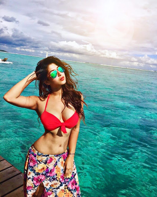 Sizzling Sonarika Bhadoria Spotted in beach wear!