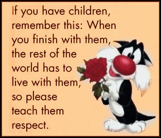 The Motivation Hotel: Teach Our Children Respect