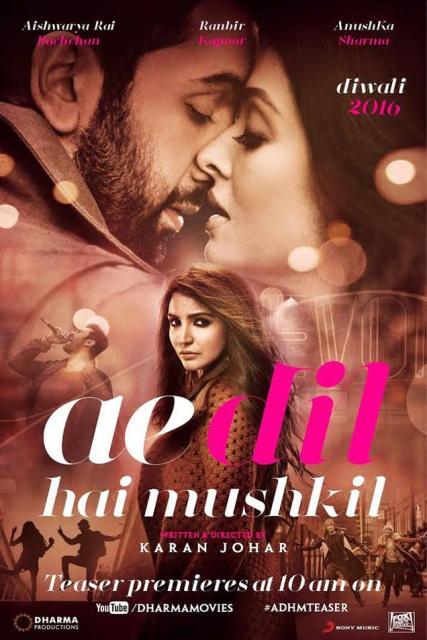 Film Ae Dil Hai Mushkil (2016)