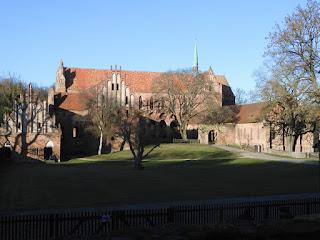 Klosterruine Chorin nördlich von Berlin