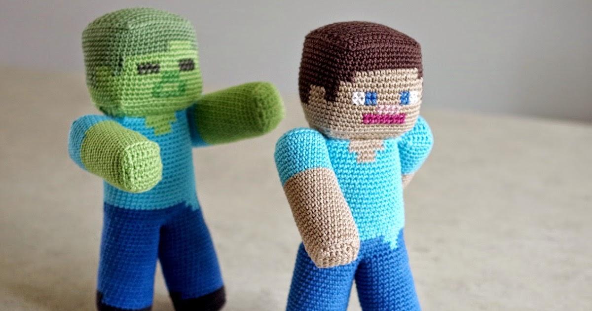 Zombie man amigurumi Crochet pattern by Zebrasaysmoo | 630x1200