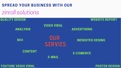 Digital Marketing services by Zinroll Solutions