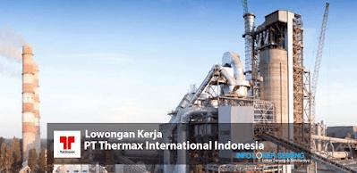 Lowongan Kerja Operator Crane & Rigger PT. Thermax Internasional Indonesia Factory Cilegon