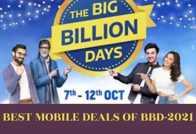 Big Billion Days (BBD) sale 2021 mobile offers