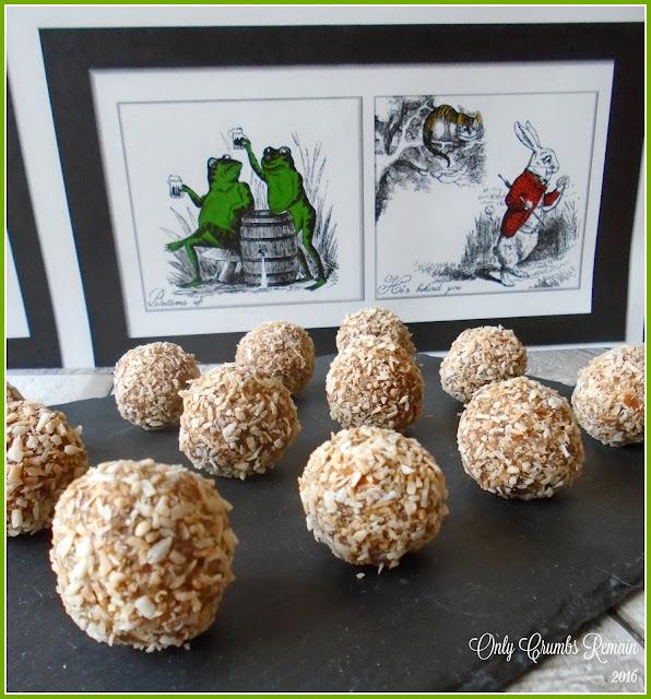 Mango & Coconut Energy Balls