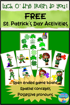 St. Patrick's Day, free, printable, activities, game