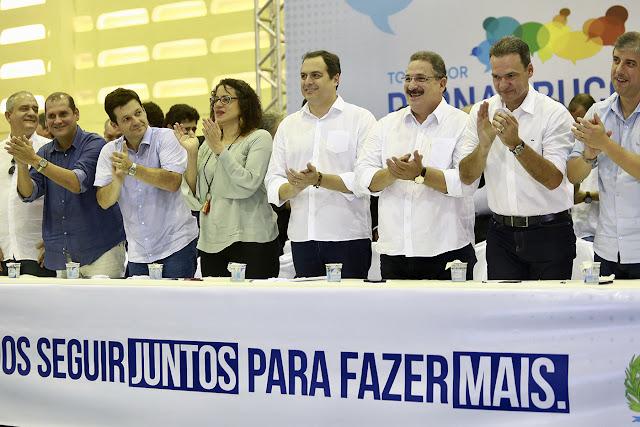 Paulo Câmara comanda o Todos por Pernambuco no Recife