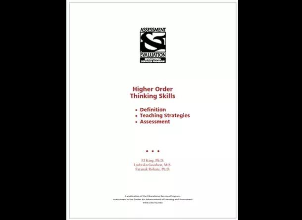Buku High Order Thinking Skills (HOTS)