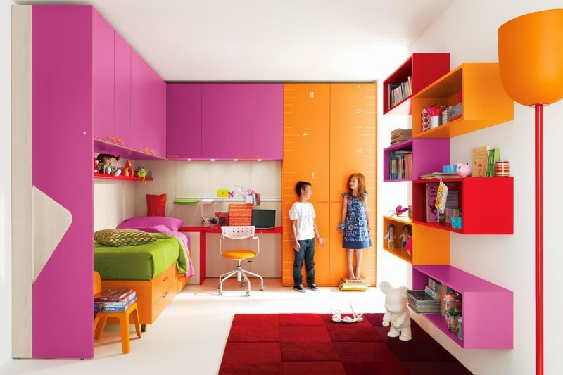 Awesome Kids Bedroom Decorating Ideas With Modern Furniture