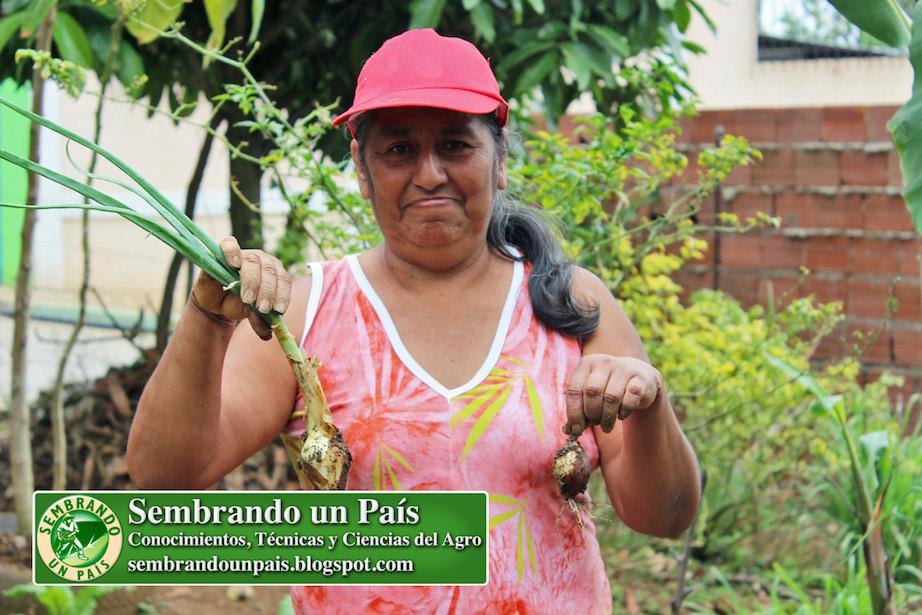 Agricultora Urbana Rosa Calderón