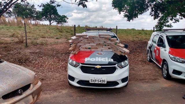 Combate ao Crime:Plicia Militar Apreende grande Quantidade de Drogas e dois individuis em Pacaembu