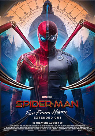 Spider-Man: Far from Home 2019 Full Hindi Movie Download Dual Audio BRRip 720p