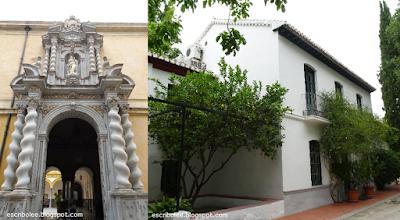 Viaje a Granada: Universidad de Derecho y Huerta de San Vicente