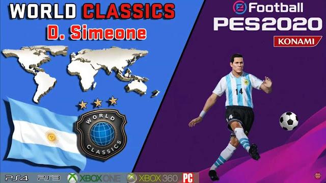 PES 2020 Simeone Face by maquiavelo40