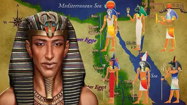 Ancient Egyptian Pharaoh Akhenaten