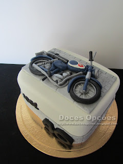 Zündapp birthday cake