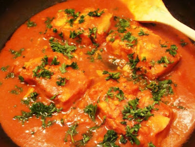 A staple in the African country Nigeria, Obe Eja Tutu or tomato fish stew is a hearty healthy fresh fish stew served with boiled yams or rice.