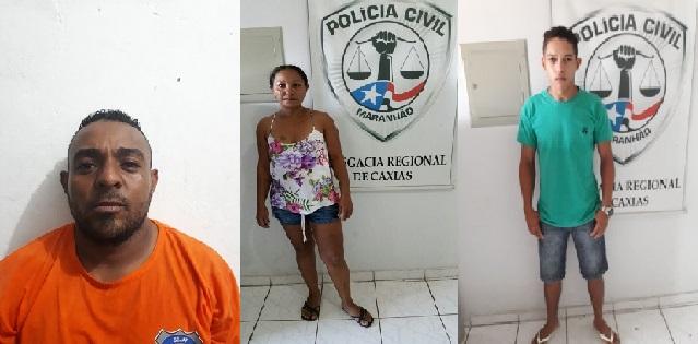 Operação da Polícia Civil de Caxias cumpre três mandados de prisão