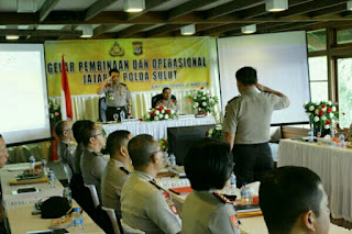 Kapolda Sulut Pimpin Gelar Pembinaan dan Operasional di Bukit Doa Tomohon