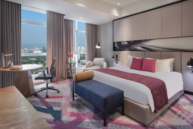 Crowne Plaza Manila Galleria Unveils its Newly Renovated Club Rooms