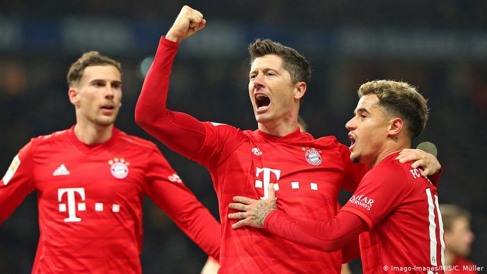 موعد مباراة بايرن ميونخ وهرتا برلين في الدوري الالماني