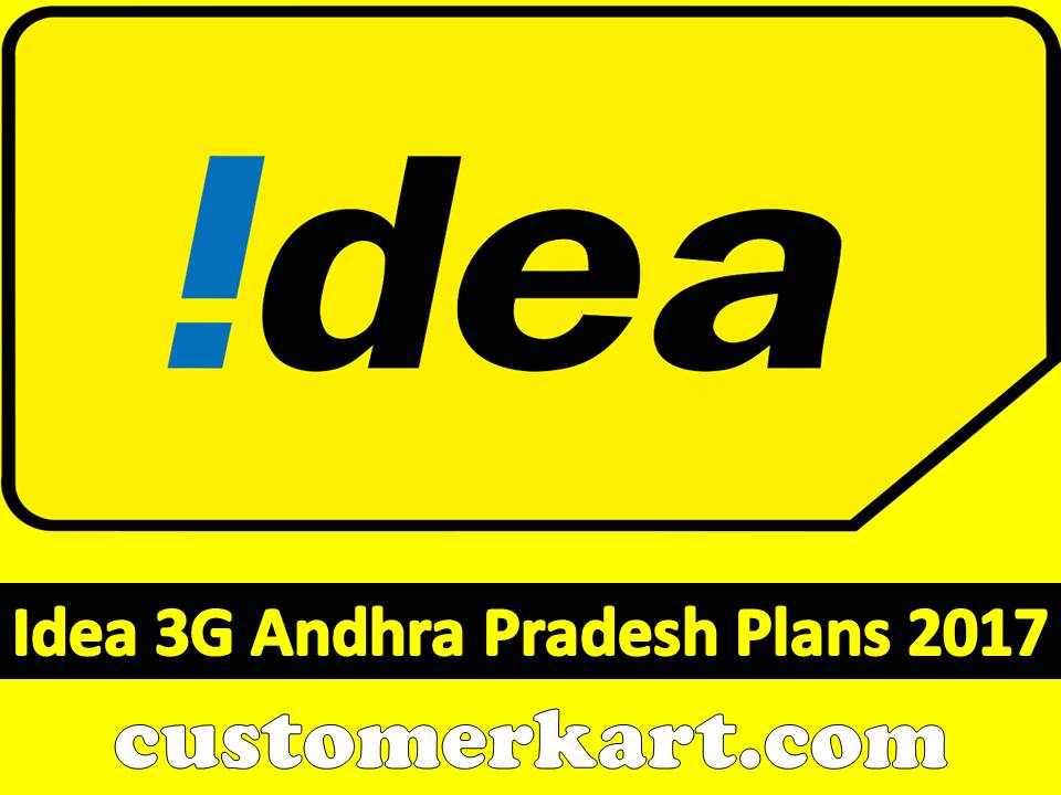 Check Out Idea 3G Andhra Pradesh Plans 2017 Prepaid ...