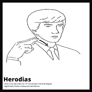 Herodias em Libras