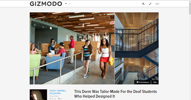 Deaf Tailor-Made Dorm sparks interests in Gizmodo article!