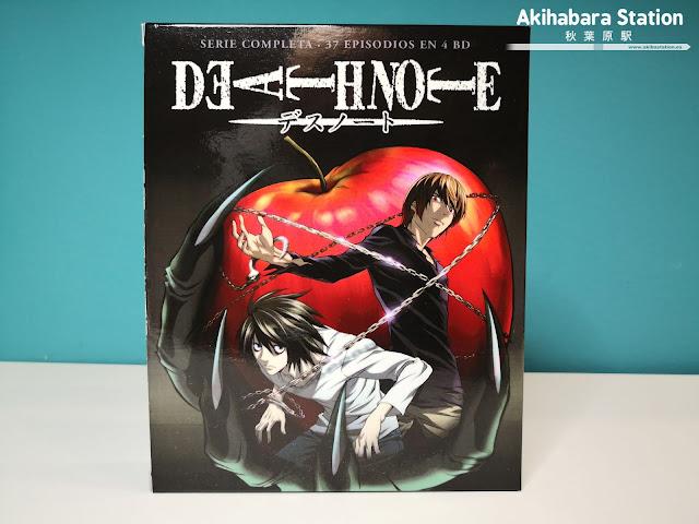 DEATH NOTE .Serie completa en Blu-Ray Disc - SelectaVisión