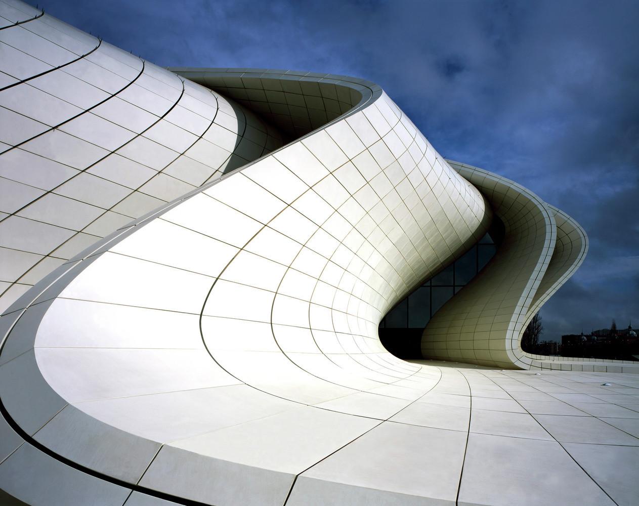 архитектура из фибробетона