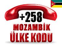 +258 Mozambik ülke telefon kodu