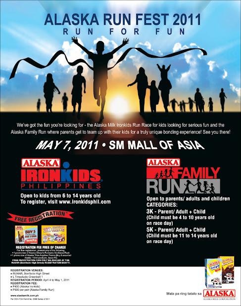 Fun Run Events Poster