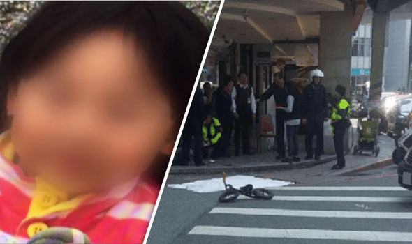 toddler beheaded in Taiwan