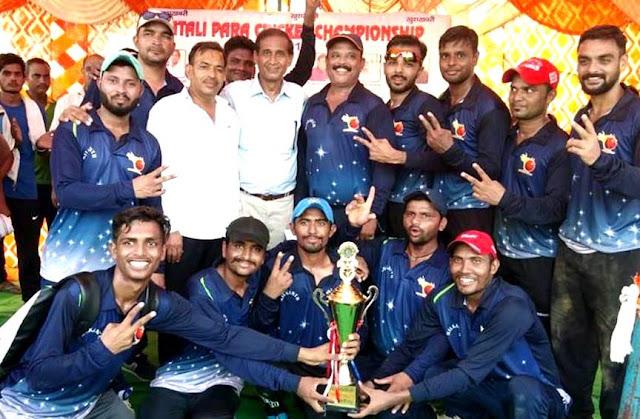 Vadodara Gujarat team captures Chandigarh in green trophy