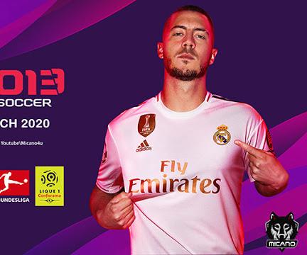PES 2013 Next Season Patch 2020 Season 2019-2020