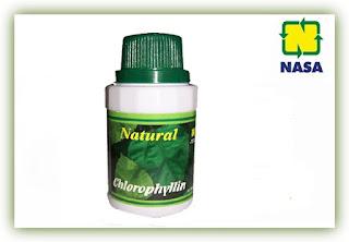 Jual Pembersih Racun Dalam Tubuh Natural Chlorophyllin Nasa